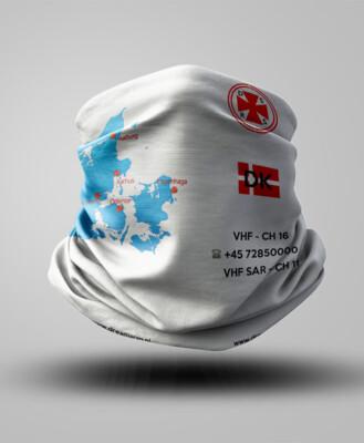 Buff z mapą - Dania
