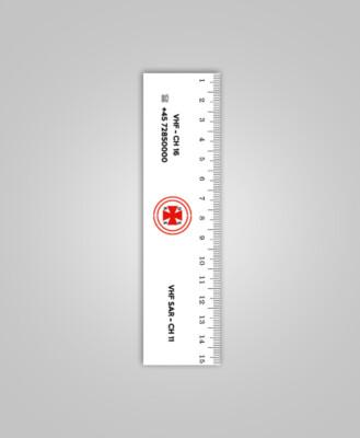 Linijka 15 cm - Dania
